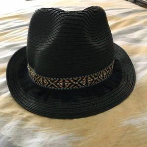 872f44f260a2d Roxy Accessories - ROXY Womens Sentimiento Straw Fedora Hat